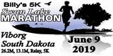 Swan Lake Marathon, 1/2 Marathon, Marathon Relay & Billy's 5K Run - 06/09/19